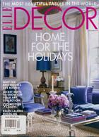 Elle Decoration Usa Magazine Issue DEC 19