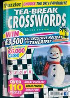 Puzzler Tea Break Crosswords Magazine Issue NO 288