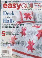 Love Of Quilting Magazine Issue EASY Q WIN