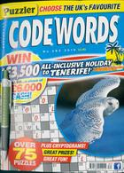 Puzzler Codewords Magazine Issue NO 282