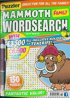 Puzz Mammoth Fam Wordsearch Magazine Issue NO 58