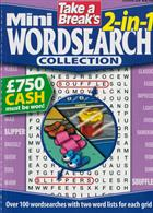 Tab Mini 2 In 1 Wordsearch Magazine Issue NO 20