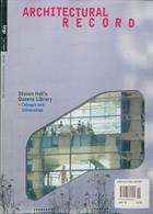 Architectural Record Magazine Issue NOV 19