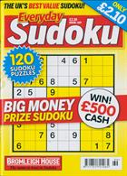 Everyday Sudoku Magazine Issue NO 169