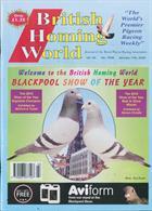 British Homing World Magazine Issue NO 7508