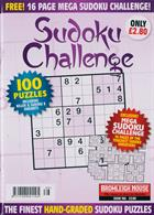 Sudoku Challenge Monthly Magazine Issue NO 186