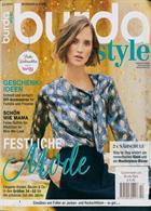 Burda Style German Magazine Issue NO 12