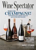 Wine Spectator Magazine Issue 15 DEC 19