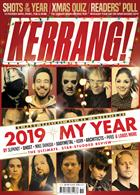 Kerrang! Magazine Issue 21/12/2019