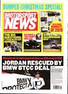 Motorsport News Magazine Issue 18/12/2019