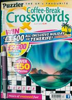 Puzzler Q Coffee Break Crossw Magazine Issue NO 87