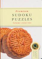 Premium Sudoku Puzzles Magazine Issue NO 62