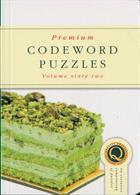 Premium Codeword Puzzles Magazine Issue NO 62