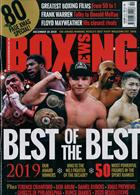 Boxing News Magazine Issue 19/12/2019
