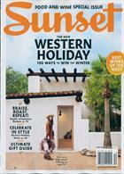 Sunset Magazine Issue NOV/DEC19