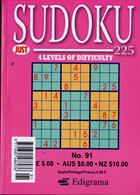 Just Sudoku 225 Magazine Issue NO 91