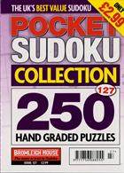 Pocket Sudoku Collection Magazine Issue NO 127