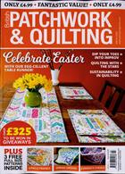 British Patchwork & Quilting Magazine Issue MAR 20