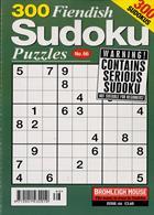 300 Fiendish Sudoku Puzzle Magazine Issue NO 66