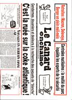 Le Canard Enchaine Magazine Issue 66