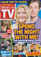 Whats On Tv England Magazine Issue 25/01/2020