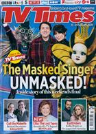 Tv Times England Magazine Issue 15/02/2020
