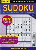 Puzzler Sudoku Magazine Issue NO 198