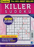 Puzzler Killer Sudoku Magazine Issue NO 167