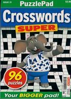 Puzzlelife Crossword Super Magazine Issue NO 21