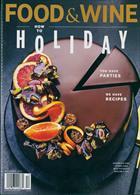 Food & Wine Usa Magazine Issue DEC 19