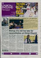 Church Of England Newsp Magazine Issue 21/02/2020