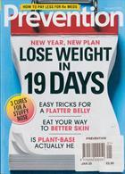 Prevention Magazine Issue JAN 20