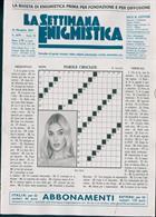 La Settimana Enigmistica Magazine Issue NO 4579