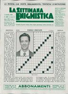 La Settimana Enigmistica Magazine Issue NO 4580