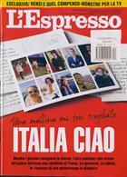 L Espresso Magazine Issue NO 52