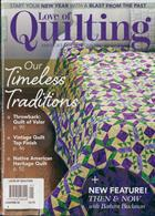 Love Of Quilting Magazine Issue JAN-FEB