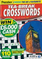 Puzzler Tea Break Crosswords Magazine Issue NO 289