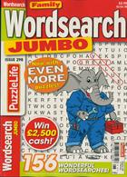 Family Wordsearch Jumbo Magazine Issue NO 298