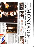 Monocle Winter Weekly Magazine Issue NO 3