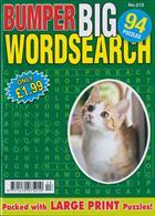 Bumper Big Wordsearch Magazine Issue NO 213