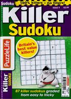 Puzzlelife Killer Sudoku Magazine Issue NO 9