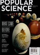 Popular Science Magazine Issue SPRING