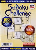 Sudoku Challenge Monthly Magazine Issue NO 187