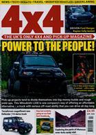 4 X 4 Magazine Issue APR 20