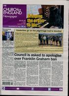 Church Of England Newsp Magazine Issue 28/02/2020