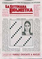 La Settimana Enigmistica Magazine Issue NO 4581