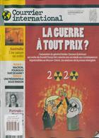 Courrier International Magazine Issue NO 1523
