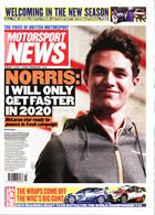 Motorsport News Magazine Issue 15/01/2020