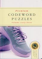 Premium Codeword Puzzles Magazine Issue NO 63