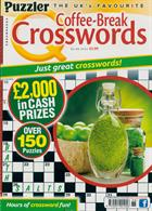 Puzzler Q Coffee Break Crossw Magazine Issue NO 88